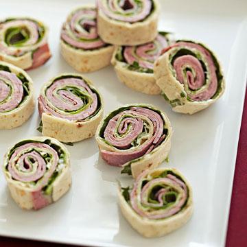 Roast Beef Pinwheels
