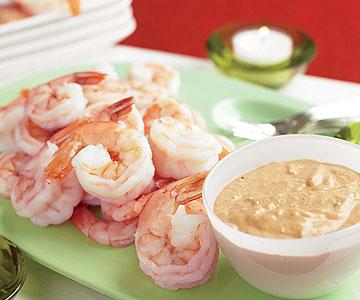 Shrimp with Cajun Sauce