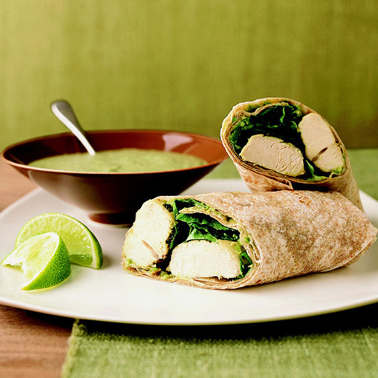 Chicken Chimichurri Wraps