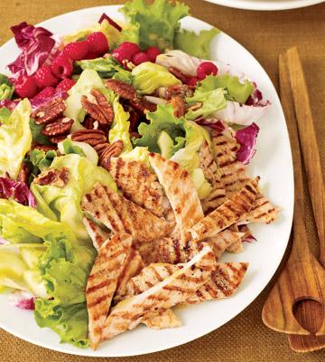Grilled Turkey Salad