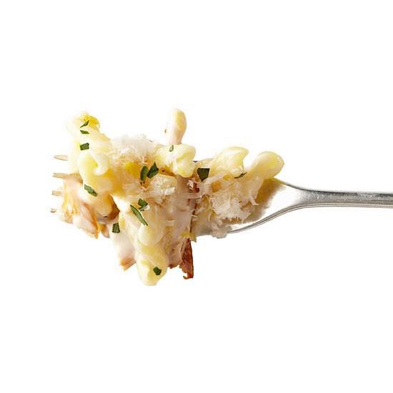 Creamy Lemon-Tarragon Chicken Gemelli