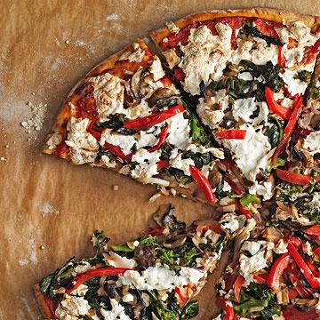 Smoky Vegetable Pizza