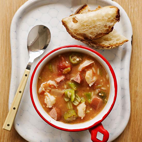 One-Pot Shrimp Gumbo