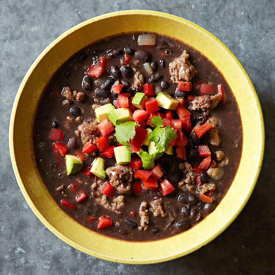 Black Bean and Sausage Stew