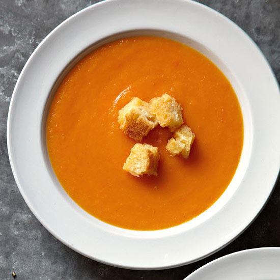 Butternut Squash & Carrot Soup