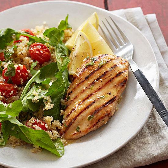 Lemon-Herb Chicken with Quinoa