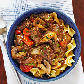 Country Dijon Beef Stew