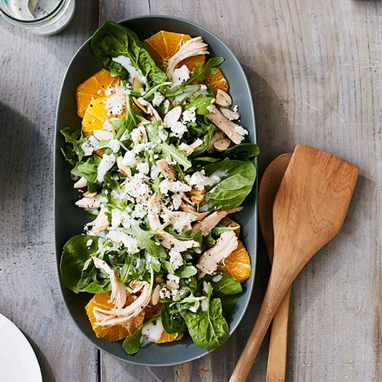 Orange and Arugula Chicken Salad