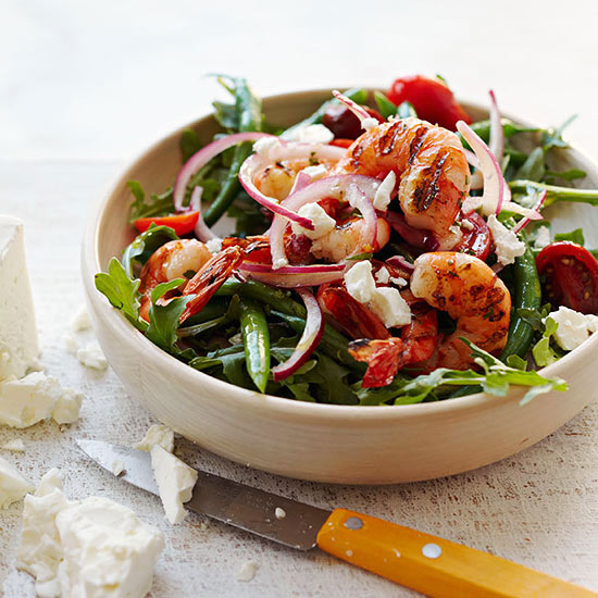 Santorini Shrimp Salad