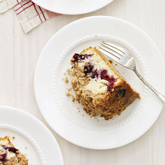 Blueberry-Cherry Buckle