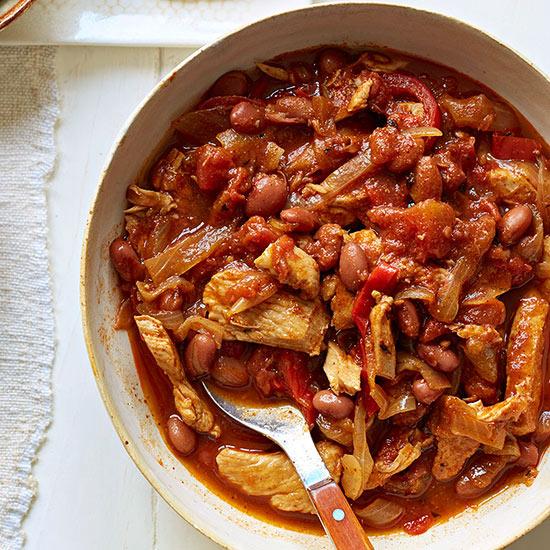 Fajita-Style Chicken Chili