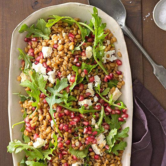 Holiday Spelt Salad