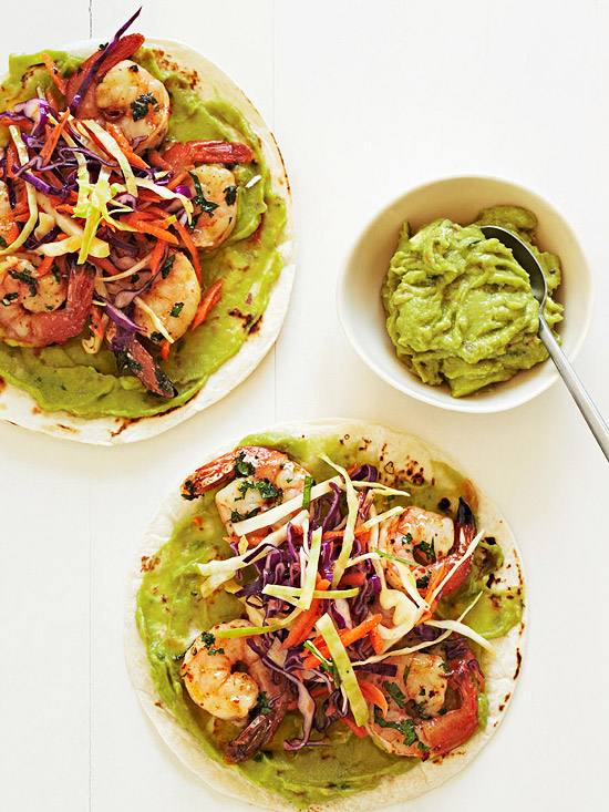 Baja-Style Shrimp Tacos