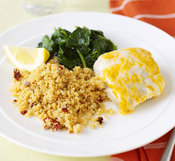 Cheesy Flounder Fillets