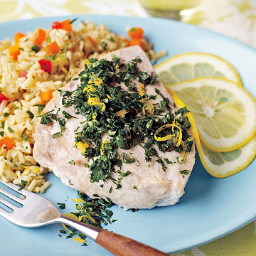 Swordfish with Gremolata