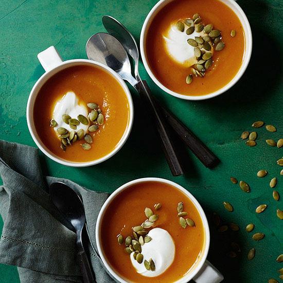 Mexican Chipotle Squash Soup