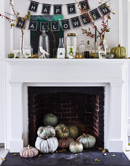 Spooky Chic Diy Halloween Decorating Ideas Family Circle