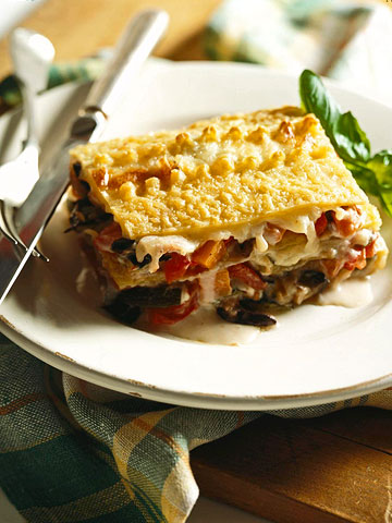 Main Dishes and Sides: Vegetarian Lasagna