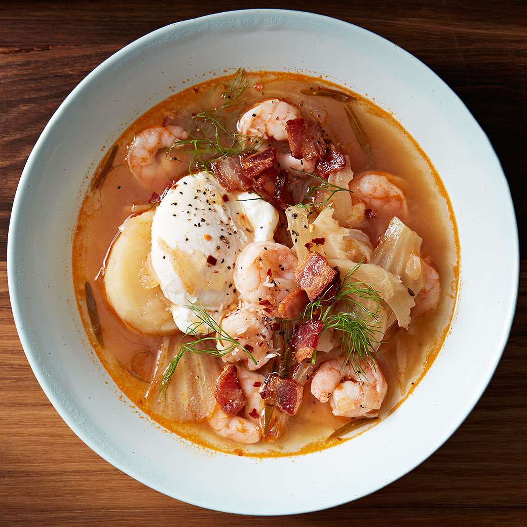 Eastern Carolina-Style Shrimp Stew