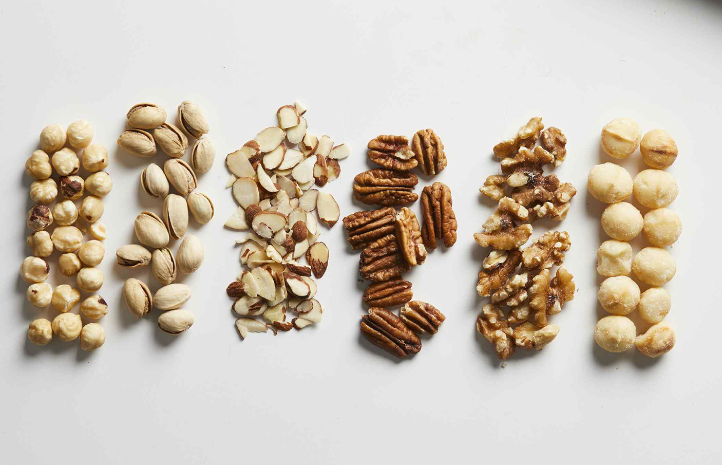 T or F: If you want a snack that's good for your heart, nuts are a great choice.