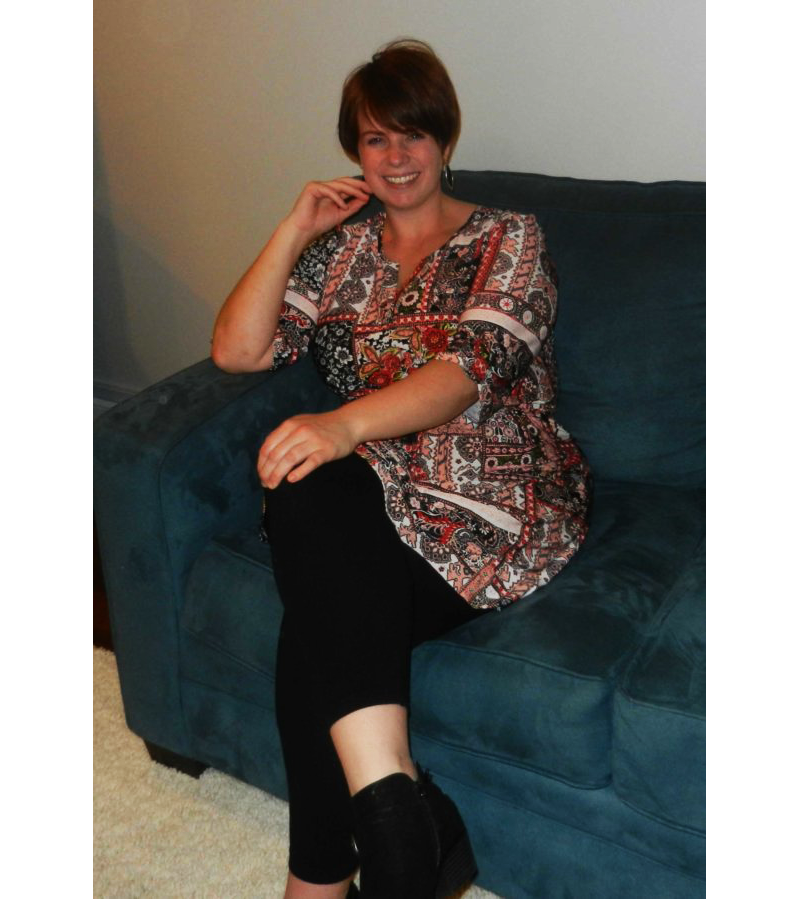 Debby Michael sitting