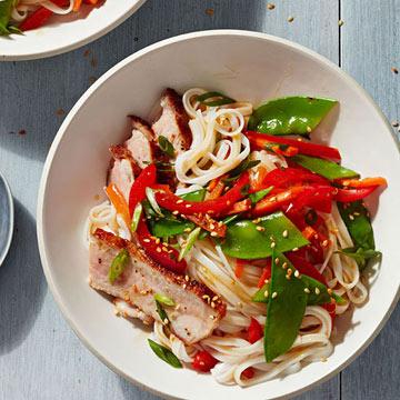 Sesame Pork Noodles