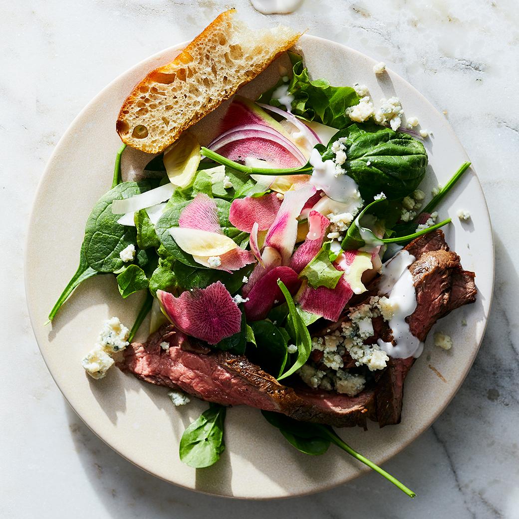 Spring Salad with Steak