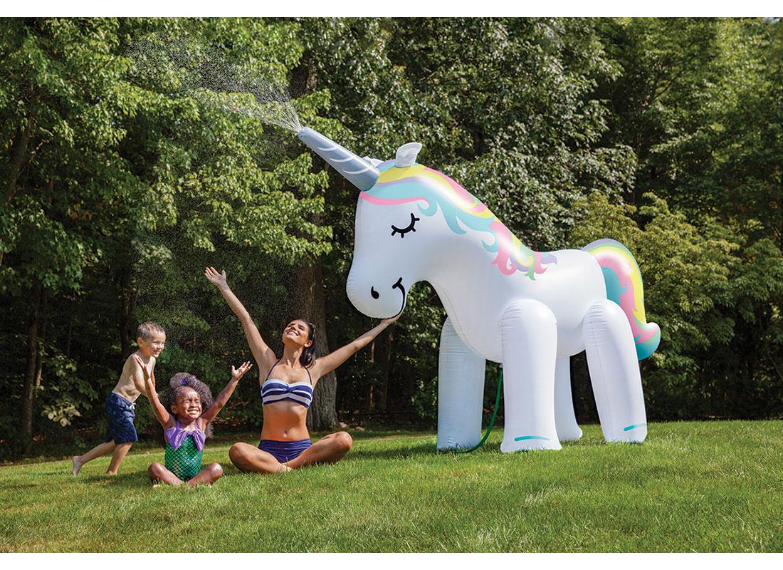 Ginormous Unicorn Yard Sprinkler