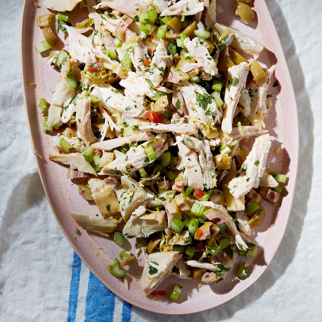 Shredded Chicken Salad Family Circle Family Circle