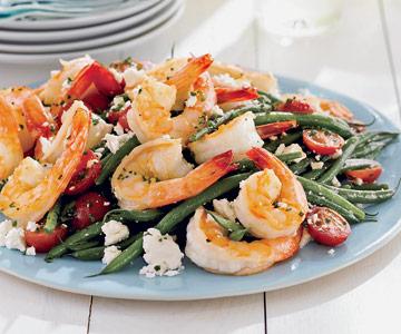 Green Bean & Shrimp Salad