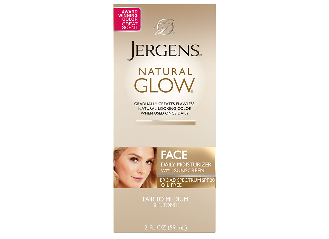 Jergens Natural Glow Face Daily Moisturizer SPF 20
