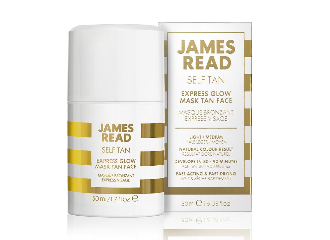 James Read Express Glow Mask Face