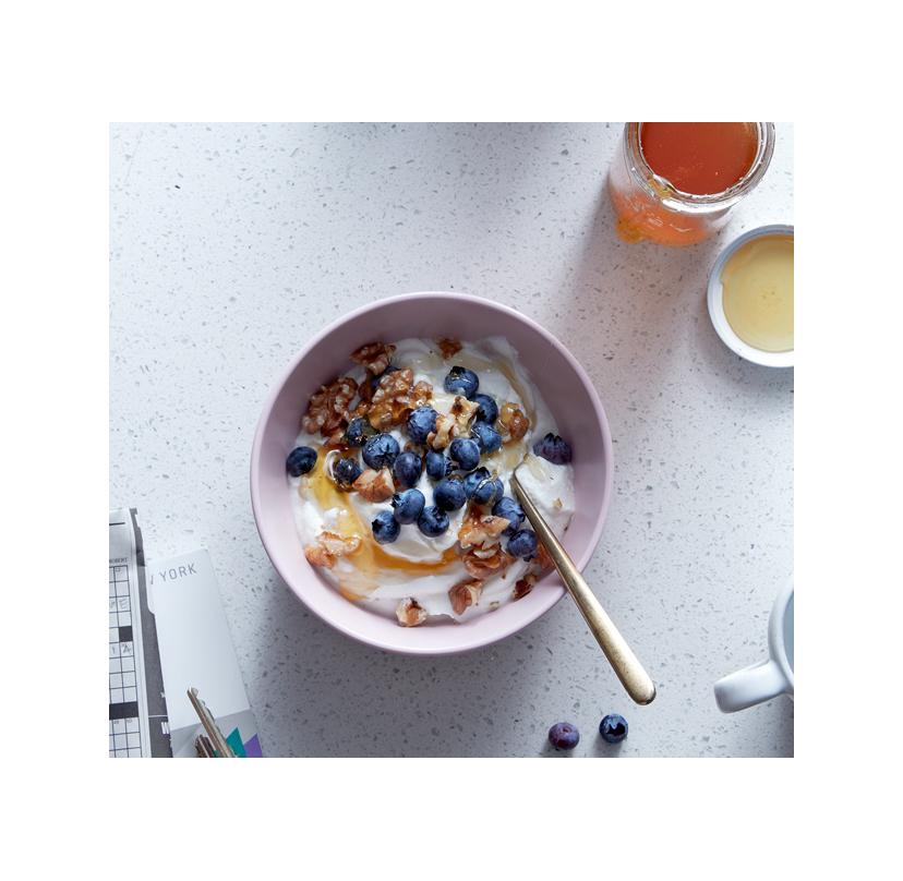 The Good Skin Diet Yogurt Blueberries Walnuts Honey March 2018