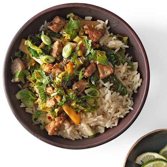Vietnamese Rice Bowl