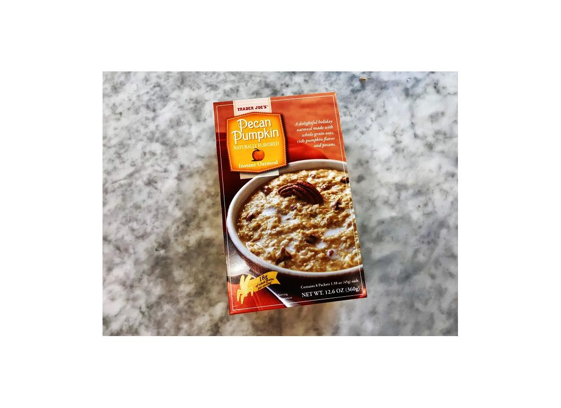 trader joe's pumpkin instant oatmeal