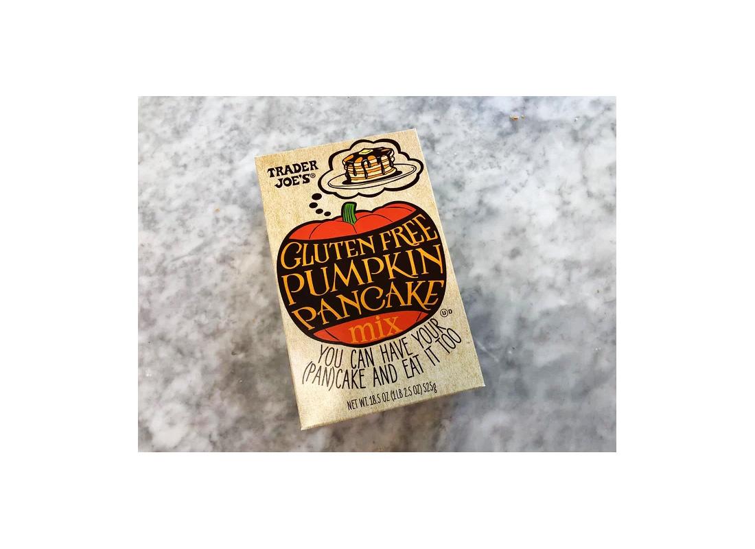trader joe's gluten-free pumpkin pancake mix