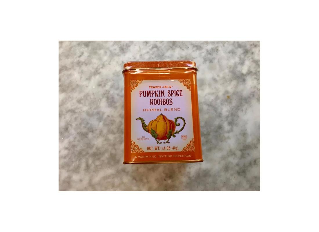 trader joe's pumpkin spice rooibos tea
