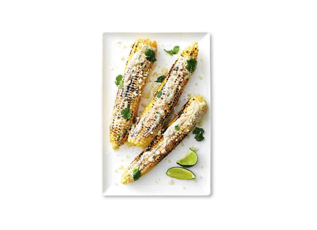 grilled street corn (elote)