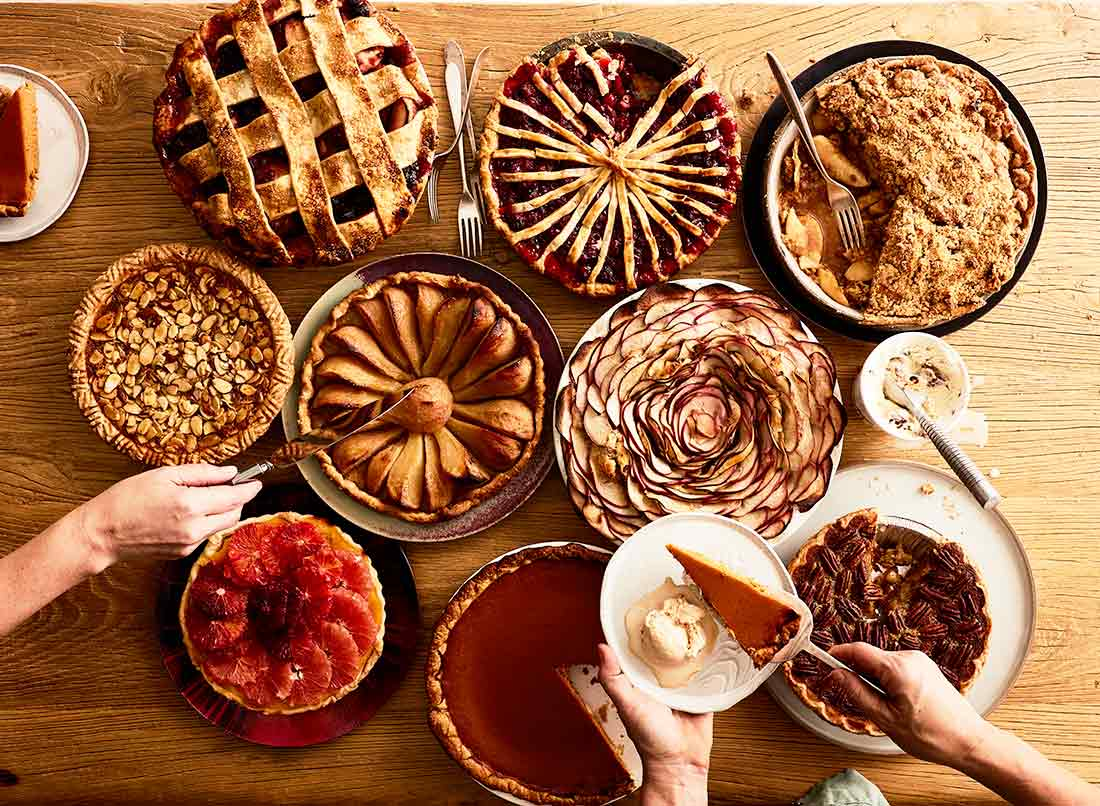 thanksgiving 2018 pies