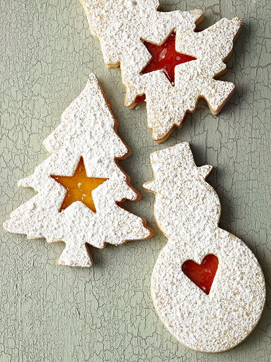Cherry & Apricot Linzers