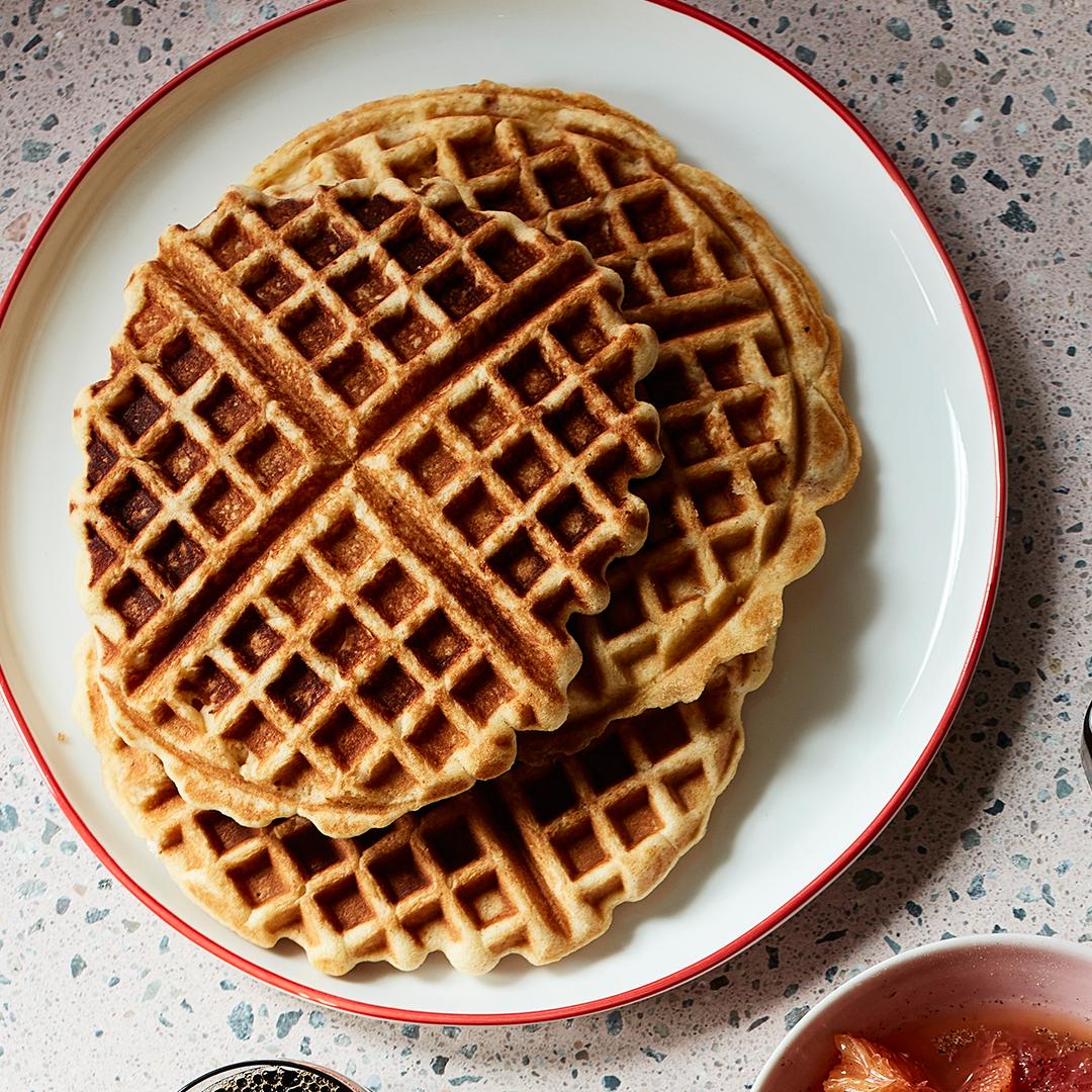 Orange-Spice Waffles