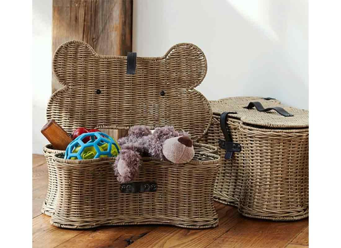 Doggie Toy Basket
