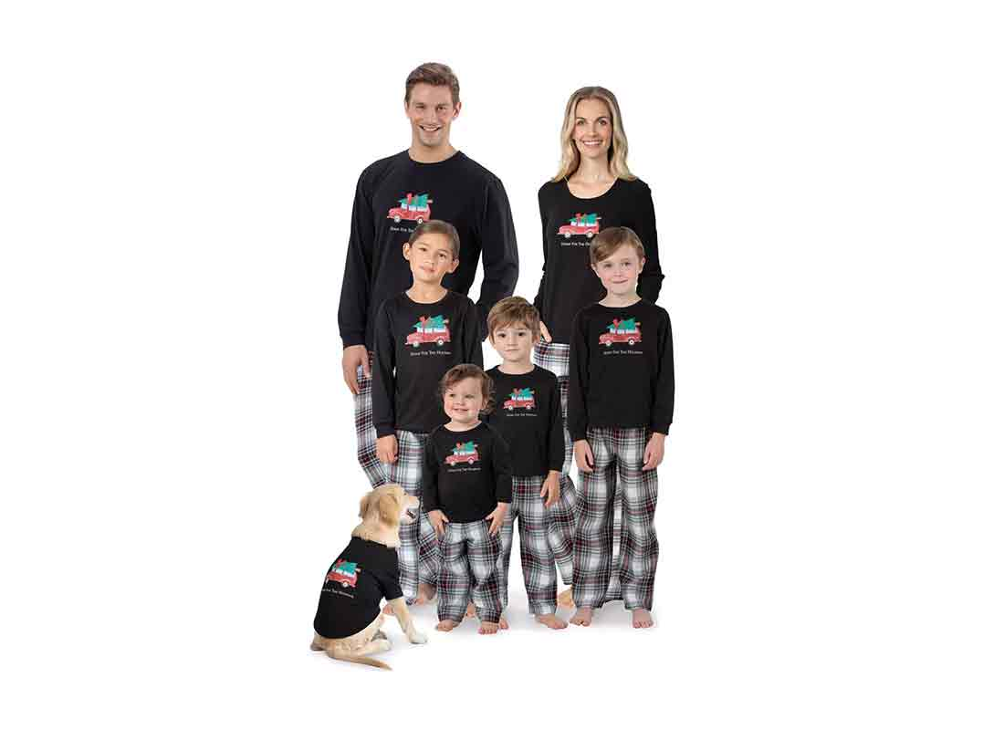 Matching Family & Pet Pajamas