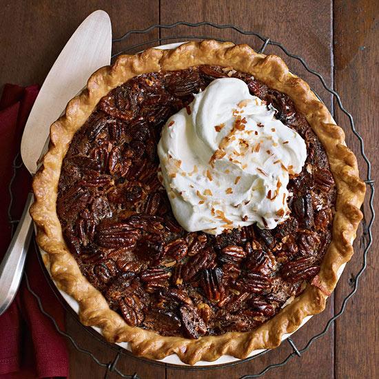 Coconut-Chocolate Pecan Pie
