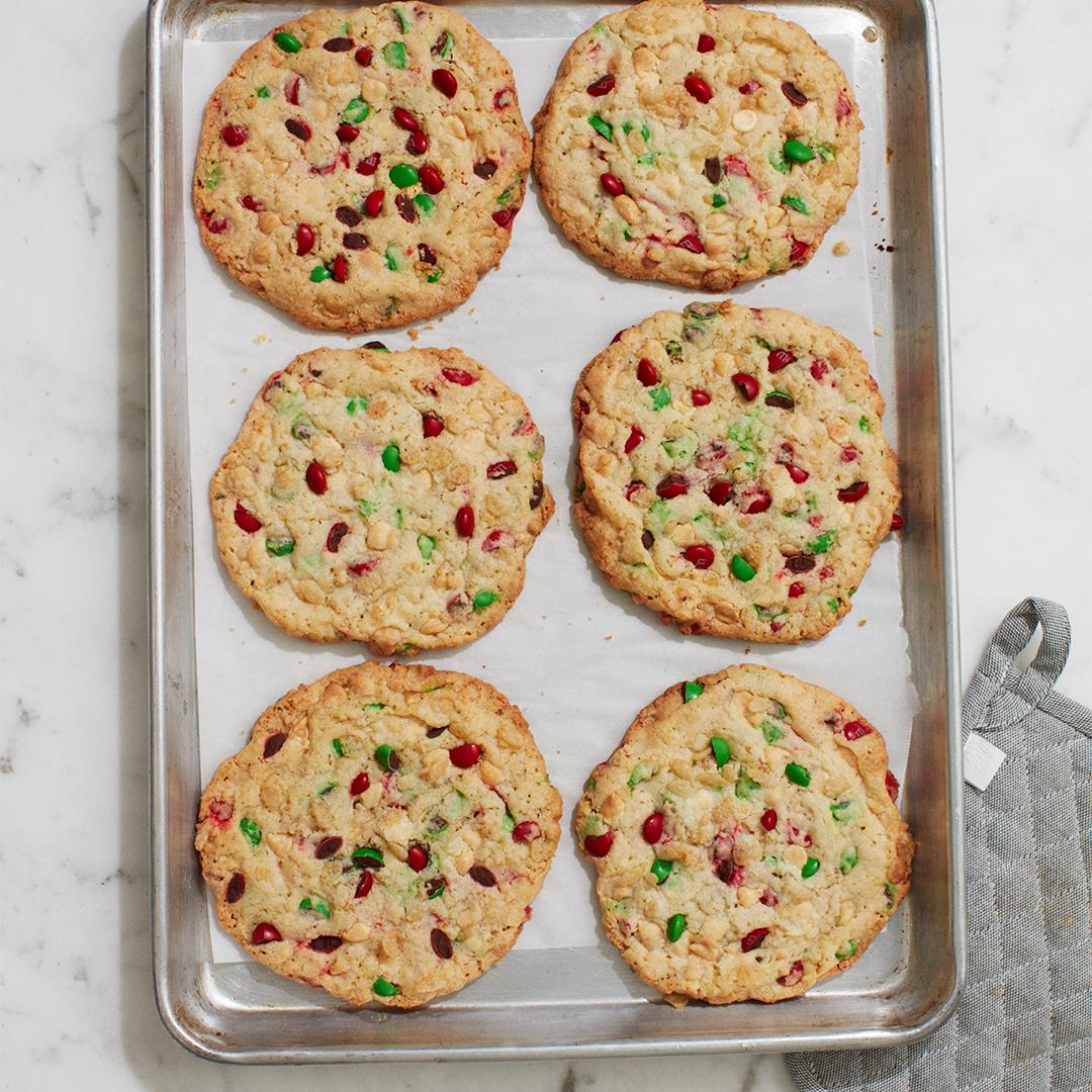 Loaded M&M Cookies