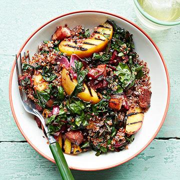 Grilled Quinoa Bowl