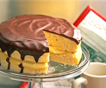 Classic Boston Cream Pie