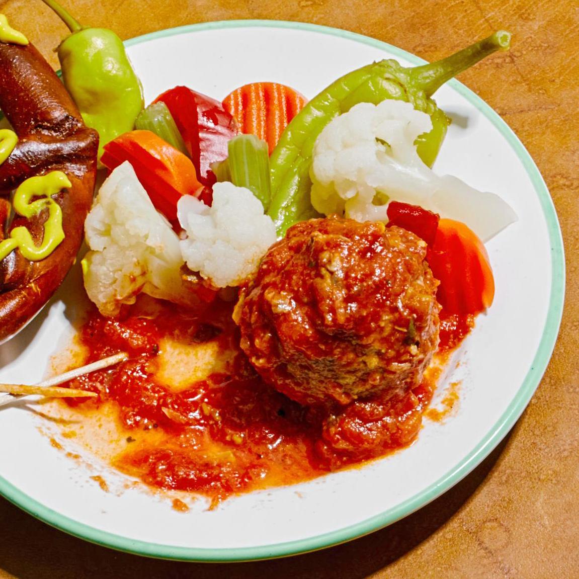 Beef Meatballs with Marinara