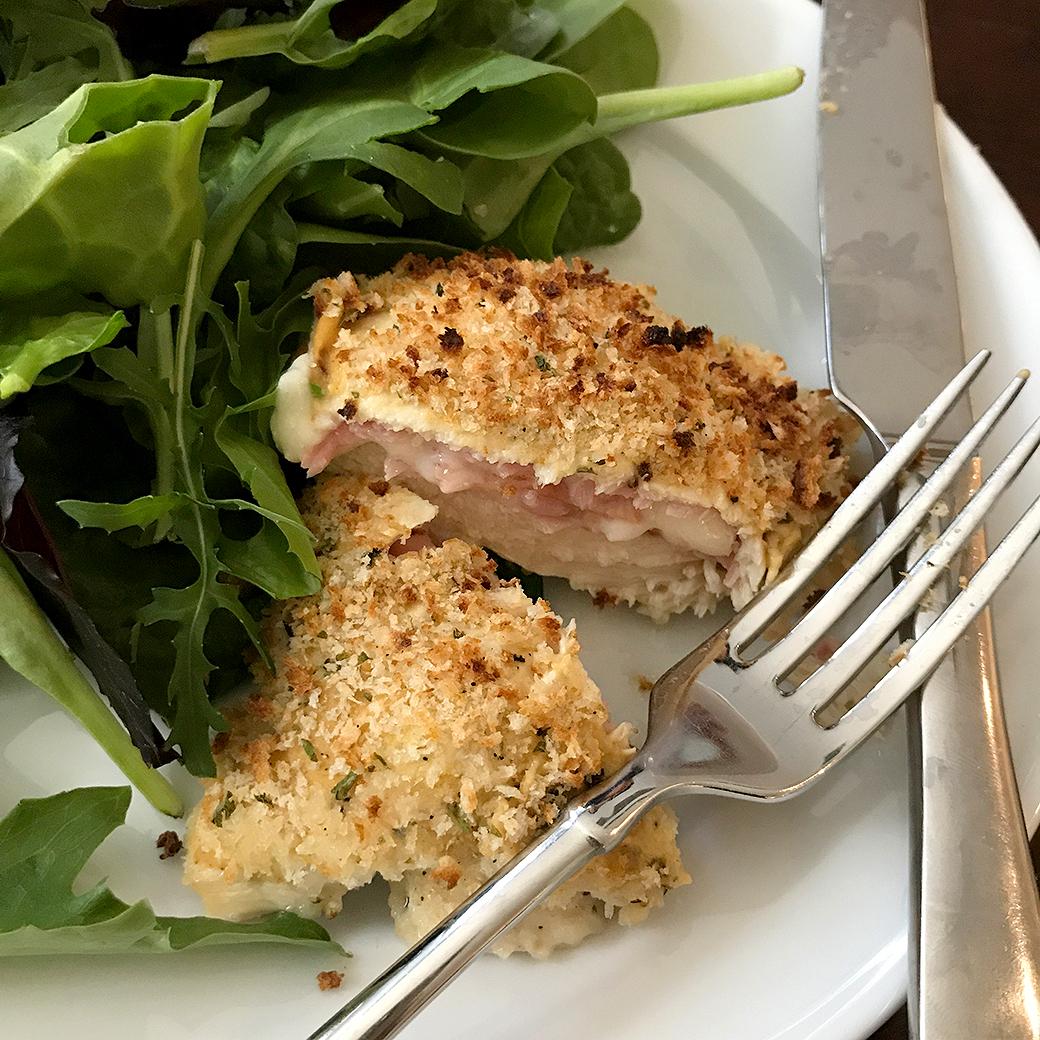 chicken cordon bleu cutlets