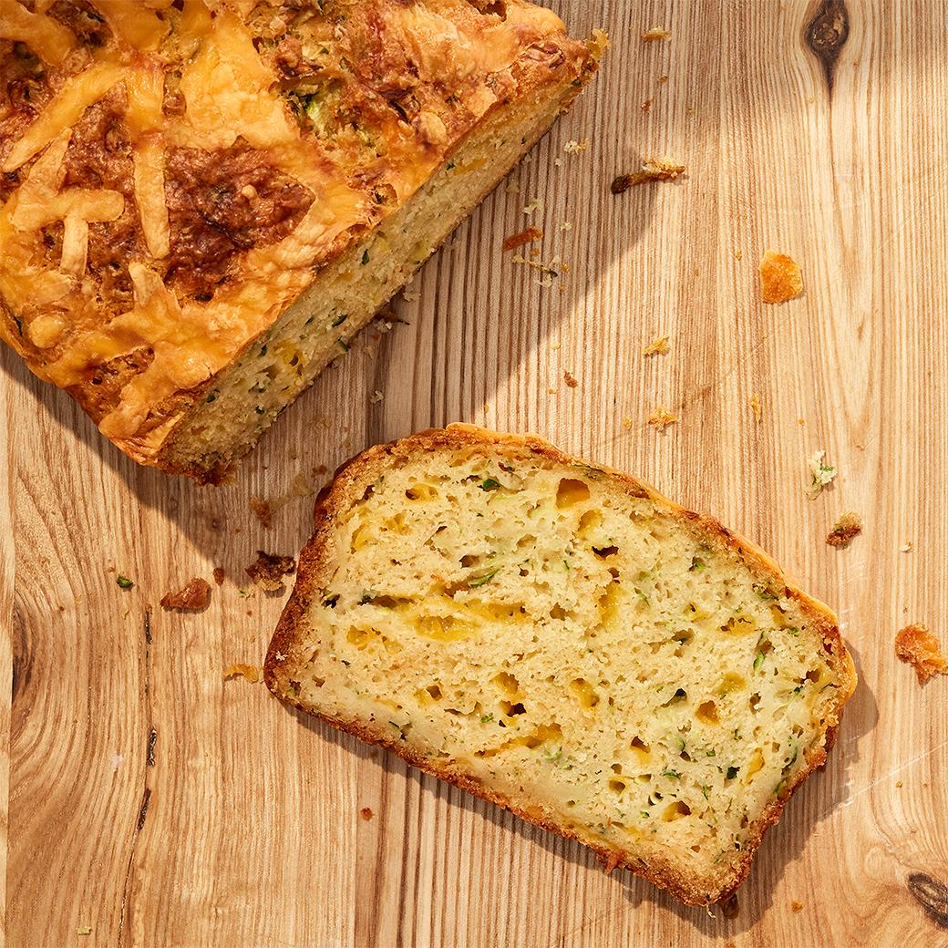 Cheddar-Zucchini Bread